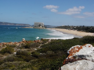 Lookout Beach and the Lookout Hotel, Plettenberg Bay