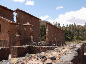 Raqchi ruins