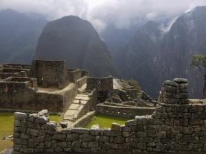 Ruins at Macchu Picchu