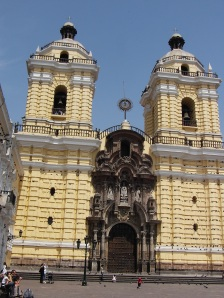 The Cathedral above the Catacombes, Lima