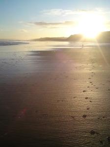 Balmedie beach, Aberdeenshire
