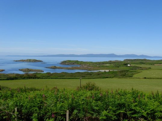 Looking towards Islay from Gigha