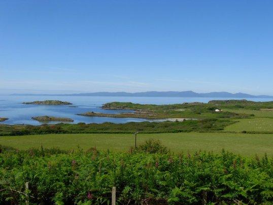Looking towards Islay from Gigha