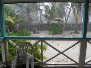 Rain & Wind in Aitutaki