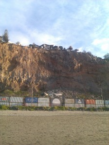 Cliffs at Sumner August 2012
