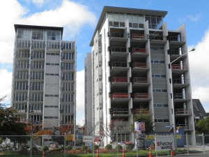Apartments near Hagley Park April 2012