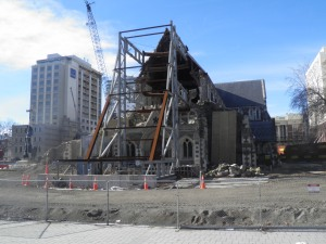 Christchurch Cathedral July 2012