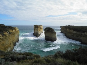 Sea Stacks near Loch Ard gorge