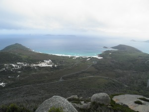 Looking towards Leonard Bay
