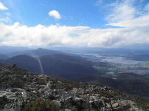 Looking up the Derwent river valley