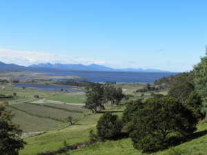 The view towards Freycinet National Park