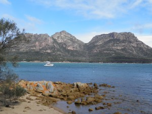 Freycinet National Park viewed from Coles