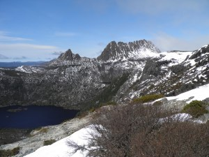 Cradel Mountain with Dove Lake below