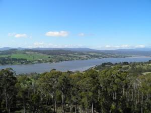 Tamar river valley
