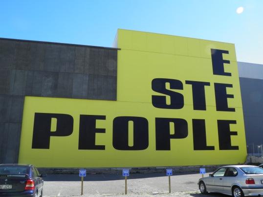 Steeple People, Kay Rosen, Worcester St