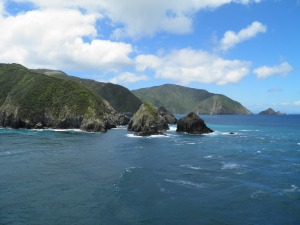 The north coast of the South Island
