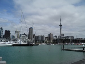 Auckland from the Viaduct