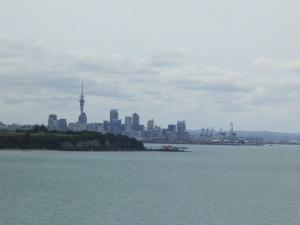 Auckland skyline from Saint Heliers