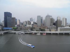 Brisbane from the big wheel