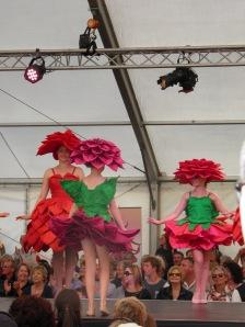 Floral fashion show