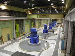 Turbine Hall of Manapouri Power Station