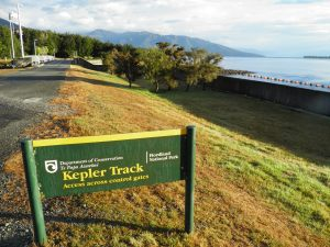 Start of the Kepler Track