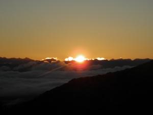 Sunrise on day 2
