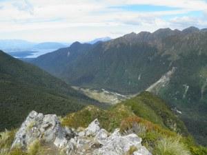 Iris Burn Valley towards Lake Manapouri