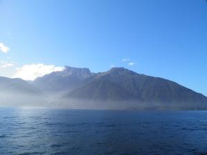 Mist over the coast