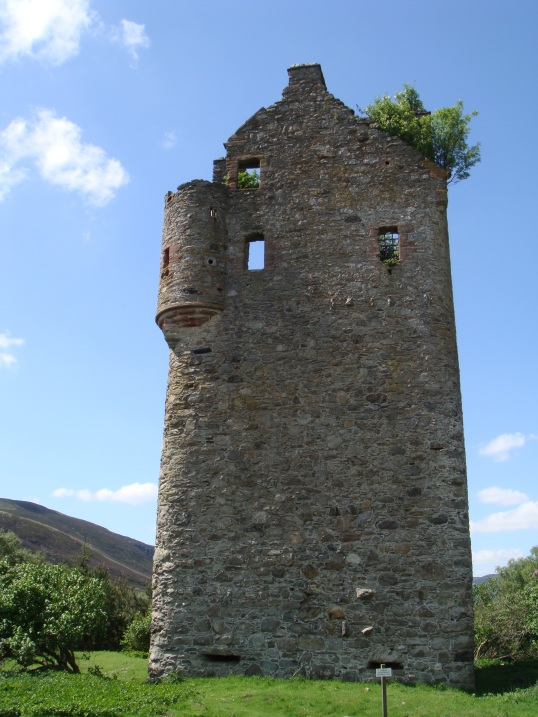 Invermark Castle, Grampian