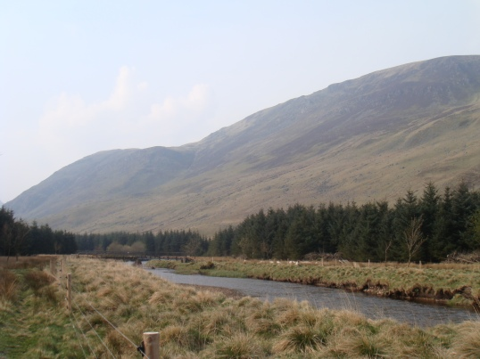 Glen Clova in Cairngorm National Park