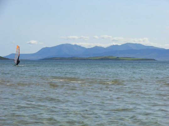 Looking towards Isle of Arran from Isle of Bute