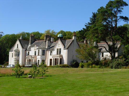 Achamore House on Gigha