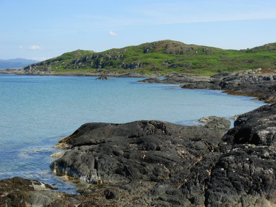 Beautiful Gigha coastline