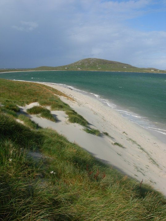 Traigh Sgurabhal with Beinn Sgurabhal in the background