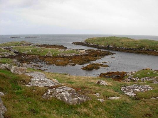On Barra, looking towards Orosaigh