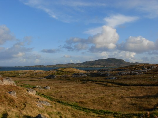 Looking towards Eriskay from South Uist