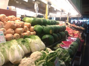 Fruit & veg at Central Market