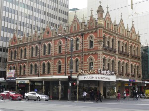 Haigh's Chocolates near Rundle Mall