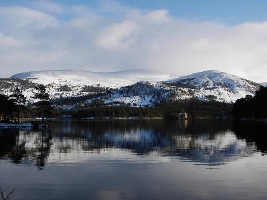 Loch An Eilein in the Rothiemurchus forest
