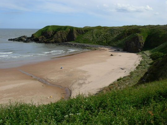 Beach south of Collieston