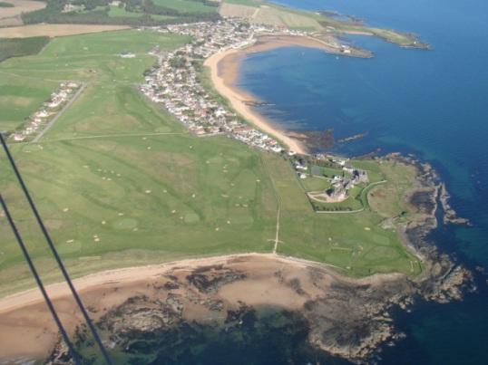 South-eastern corner of the Kingdom of Fife