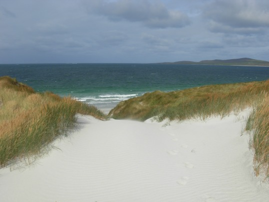 Sand dunes on Berneray