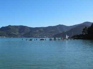 Lyttleton Harbour from Diamond Harbour