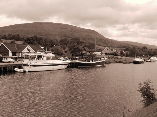 Crinnan Canal outside Fort William