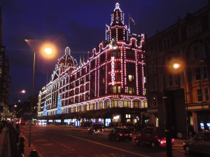Harrod's in winter