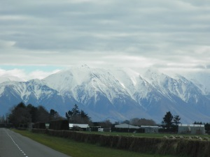 Mountains near Mt Hutt