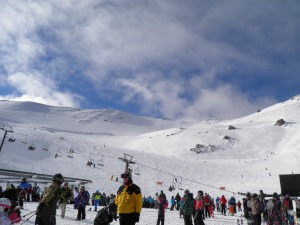 Mt Hutt ski field