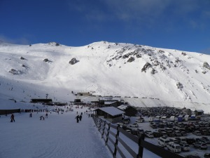 Mt Hutt ski centre