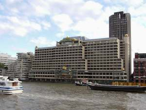 Sea Containers on the river Thames